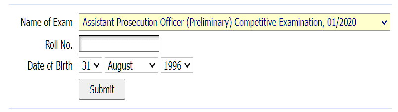 BPSC 65th Result
