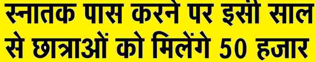 Bihar BA Pass Scholarship 2021 50 hajar