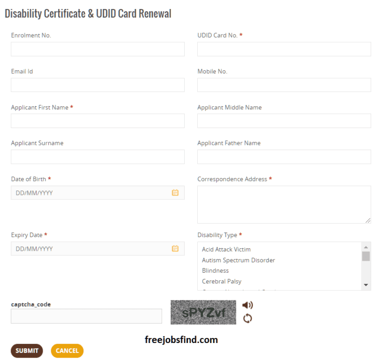 Disability Certificate Renewal Process