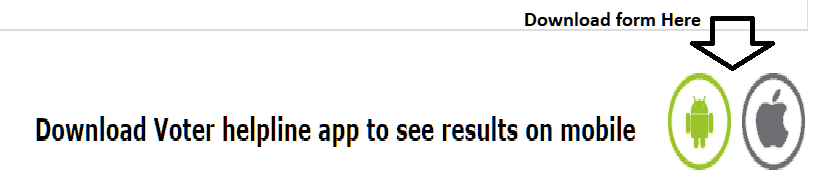 ECI Result Voter Helpline app