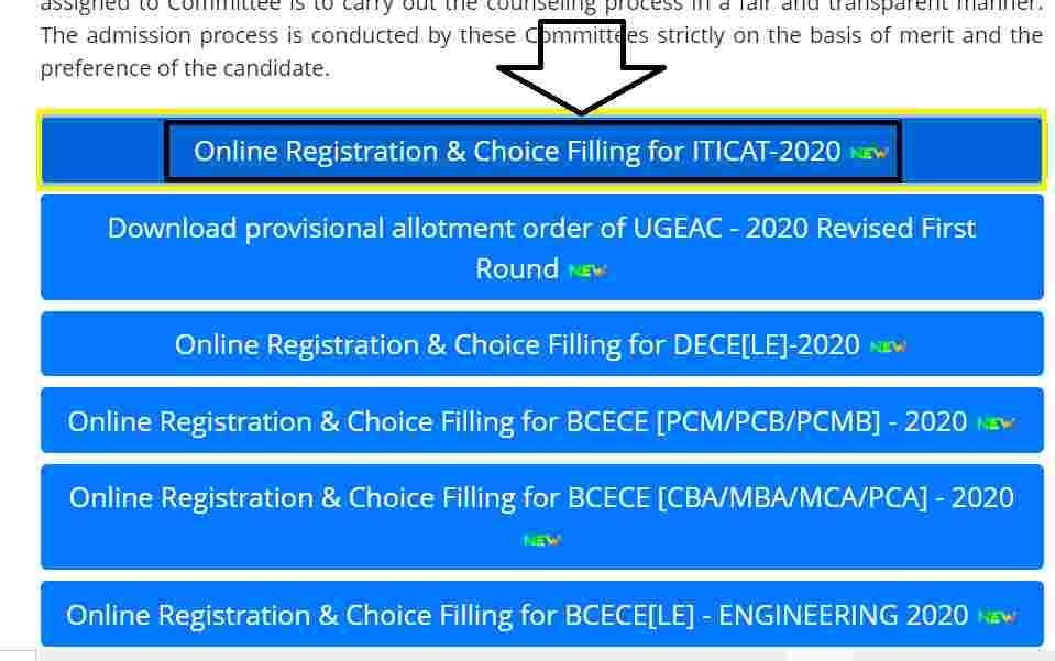Bihar ITI Online Counselling