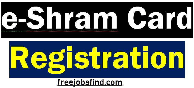 eshram card registration online