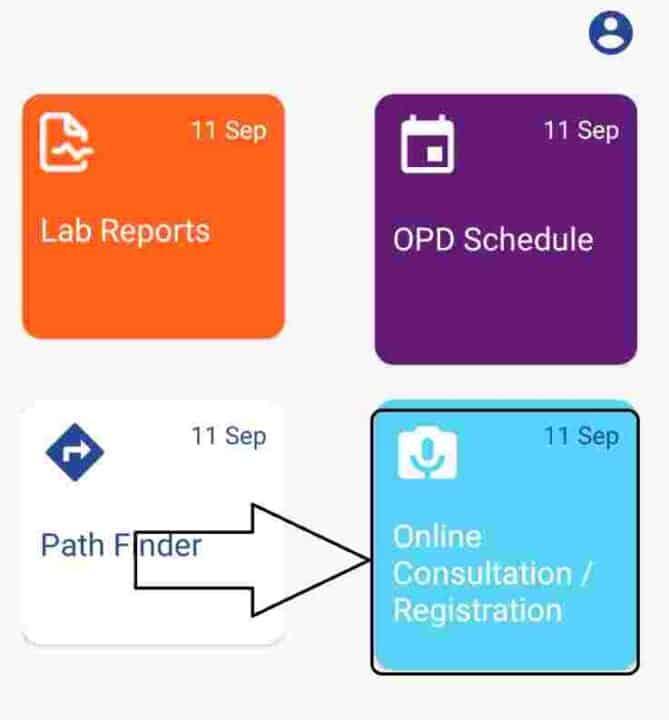 opd registration igims