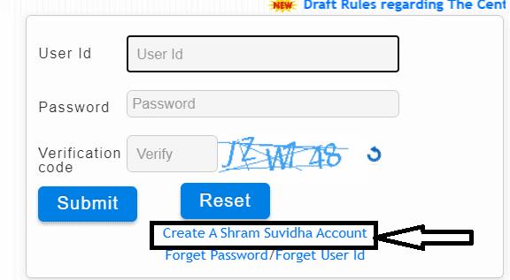 shram suvidha portal registration process